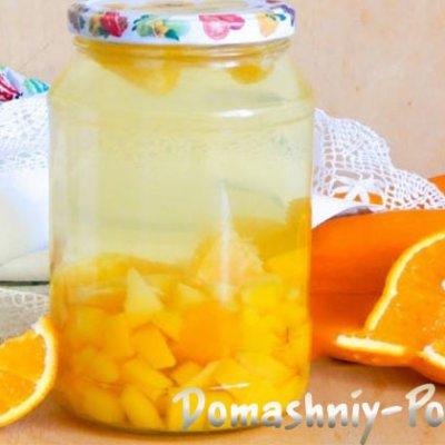 Компот из апельсинов рецепт пошагово на зиму