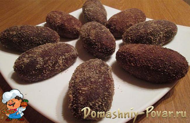 Как сделать шоколадные картошки