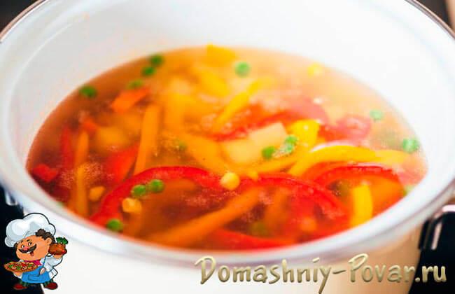 Рецепт овощного супа для беременных 69