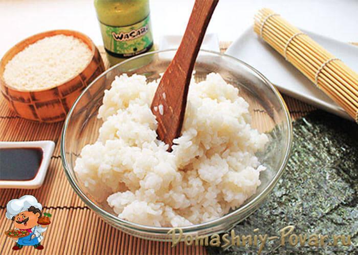 Как сварить рис на ролл в домашних  54
