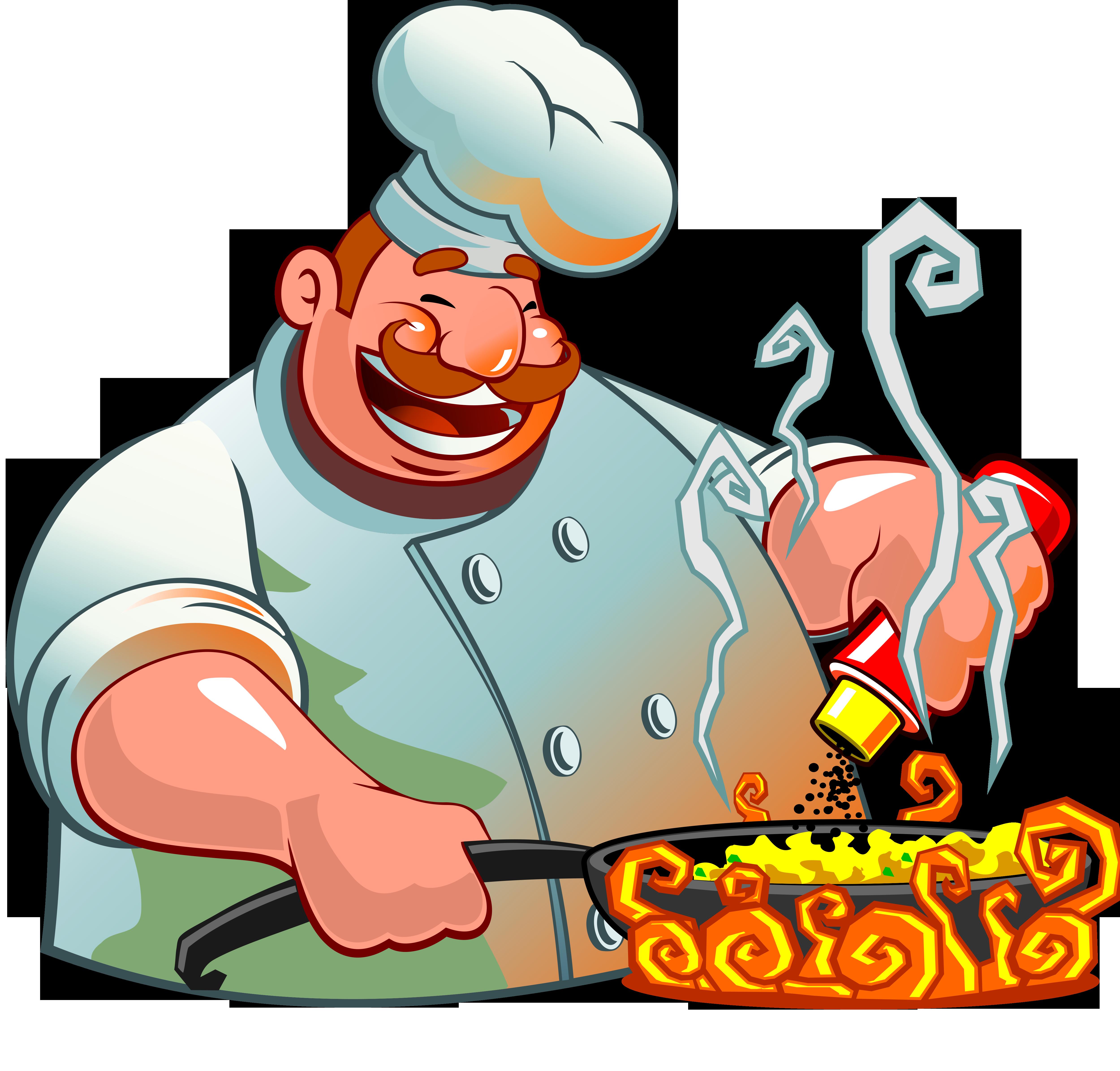 Картинка с поваром поздравление
