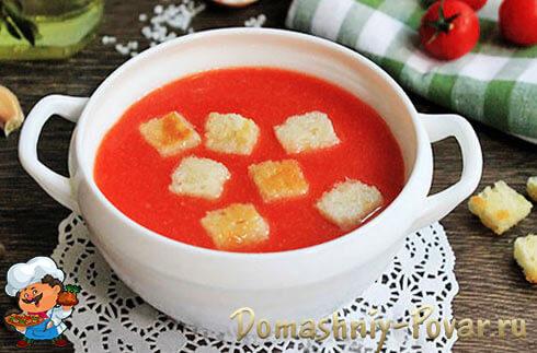 Томатный суп гаспачо рецепт