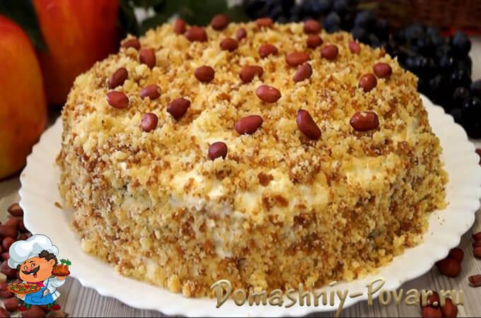 Классический торт Сметанник