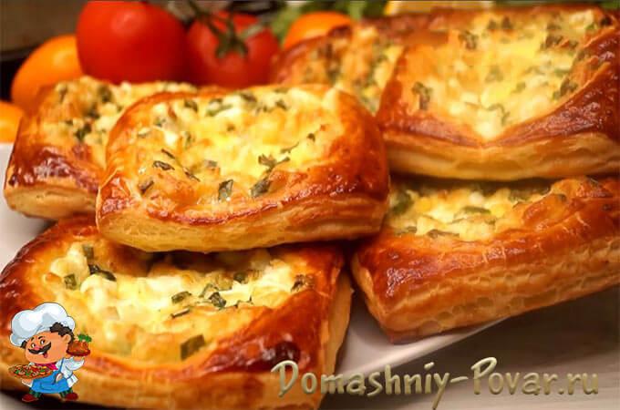 Рецепт пирожки с яйцом и зеленым луком